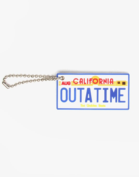 The Hundreds x Back to the Future Keychain