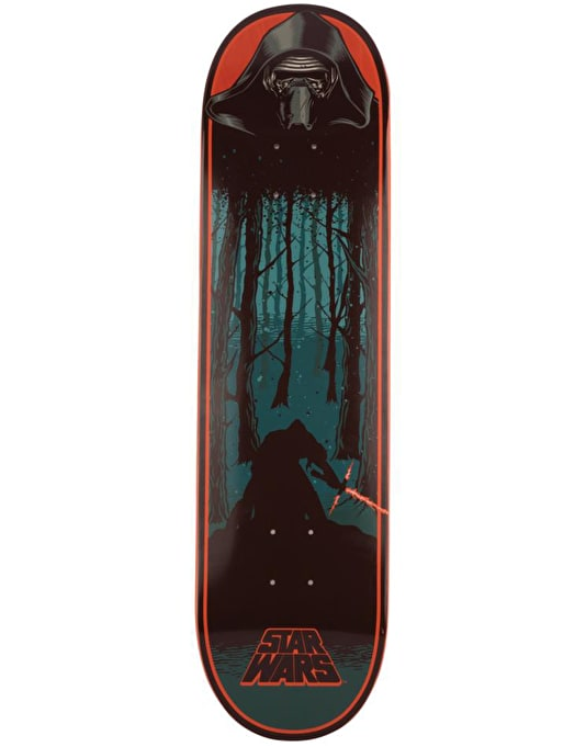 Santa Cruz x Star Wars Episode VII Kylo Ren Skateboard Deck - 8.26""