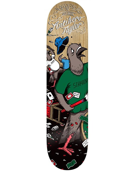 Anti Hero Taylor Wild Jokers II Pro Deck - 8.43""