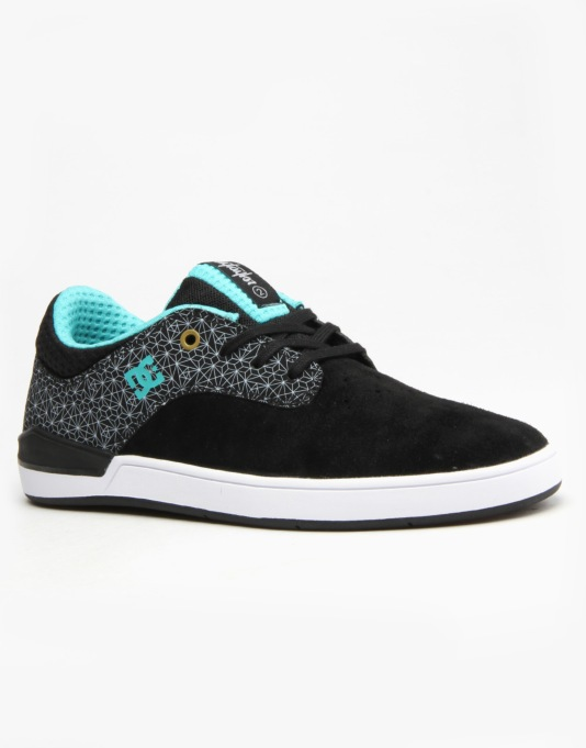 DC Mikey Taylor 2 S Skate Shoes - Black/Grey/Black