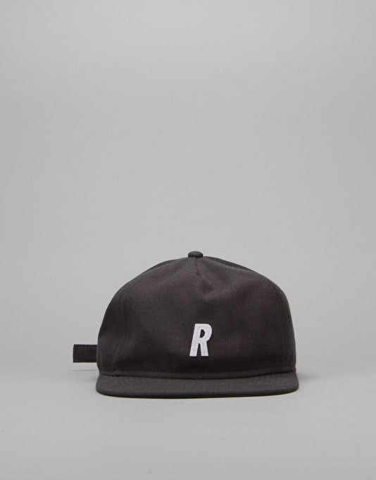 Route One R Unstructured Cap - Charcoal