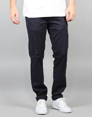 Element Krewson Highwater Trousers - Eclipse Navy