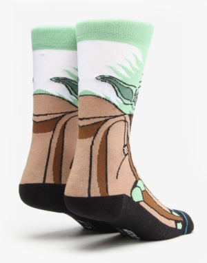Stance x Star Wars Yoda Socks - Green