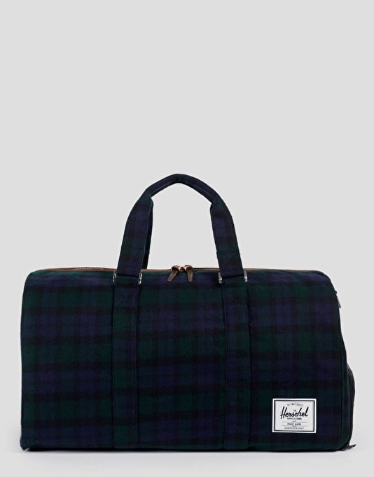 Herschel Supply Co. Novel Duffel Bag - Black Watch Plaid
