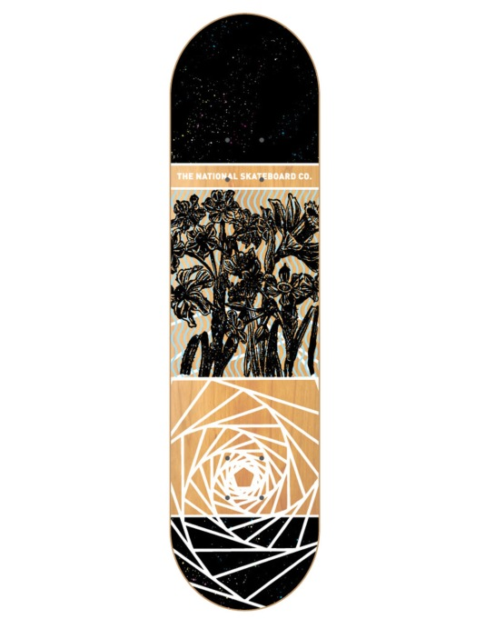 The National Skateboard Co. Universal X Team Deck - 8.375""