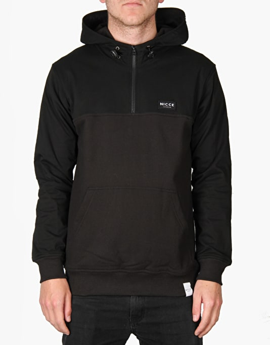 Nicce Writter Tech Track Hoodie - Black