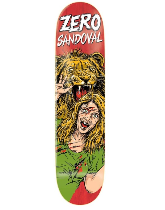 Zero Sandoval Animal Attack Impact Light Pro Deck - 8""