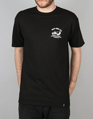 HUF Concrete Mixer T-Shirt - Black