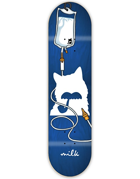 Milk Drip Logo Team Deck - 8.5""