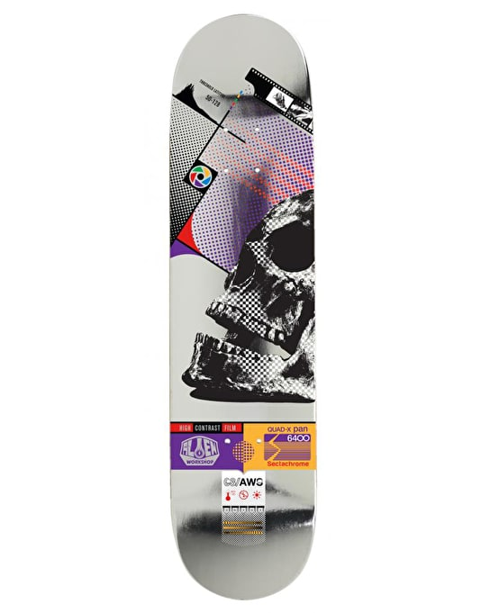 Alien Workshop Sectachrome Skull Team Deck - 8""