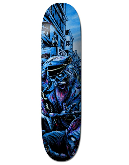 Plan B Sheckler Ripping Shred BLK ICE Pro Deck - 8""