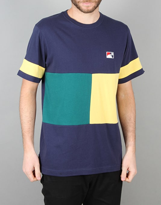 The Hundreds Square One T-Shirt - Navy