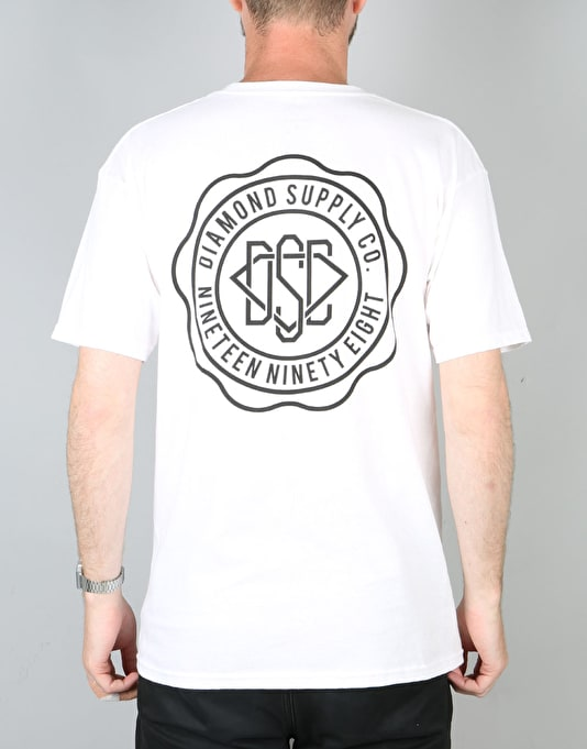 Diamond Supply Co. DSC Seal T-Shirt - White