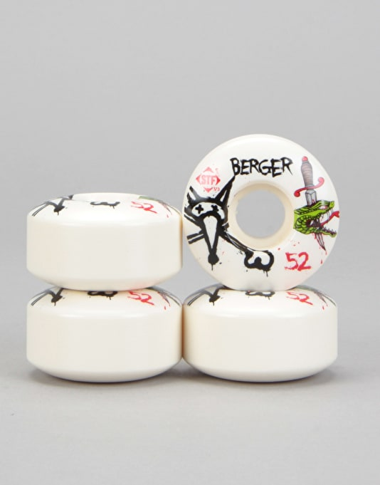 Bones Berger Snake V3 STF Pro Wheel - 52mm