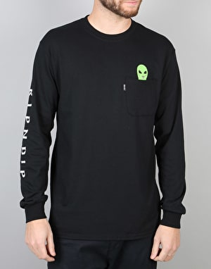 RIPNDIP Lord Alien L/S T-Shirt - Black
