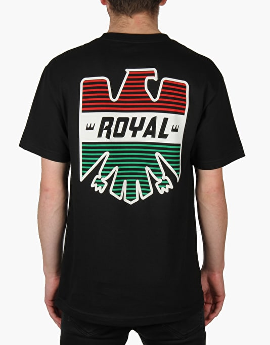 Royal Keep On Chuggin' T-Shirt - Black