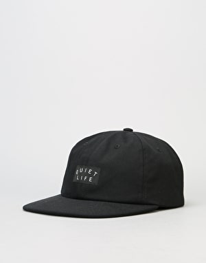 The Quiet Life Field Polo Snapback Cap - Black