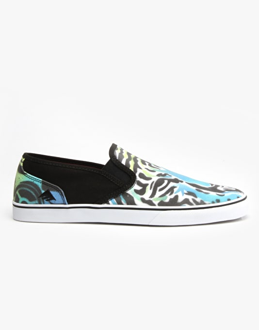 Emerica x Mouse Provost Cruiser Slip UK Exclusive Skate Shoe -  Tiger