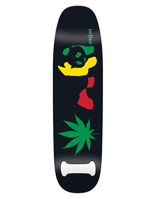 Enjoi I Love Rasta Panda Team Deck - 8.5""