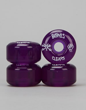 Bones SPF Clears Team Wheel - 55mm
