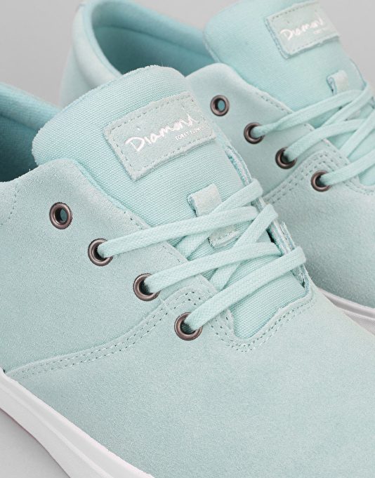 Diamond Supply Co. Torey Skate Shoes - Diamond Blue Suede