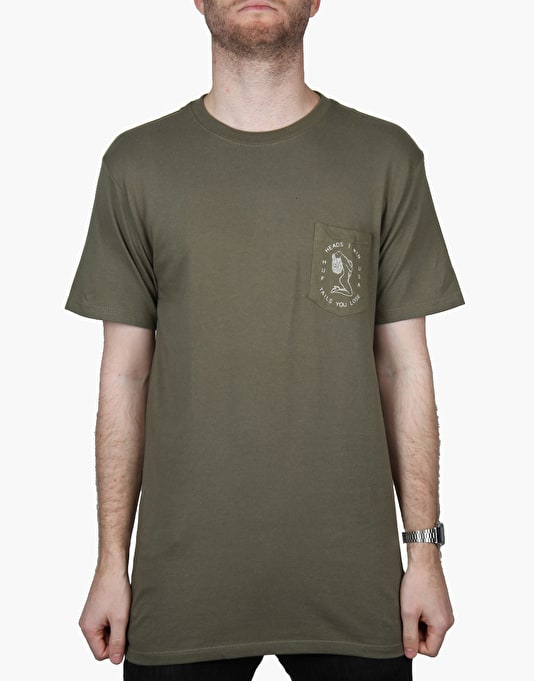 HUF We Win T-Shirt - Olive