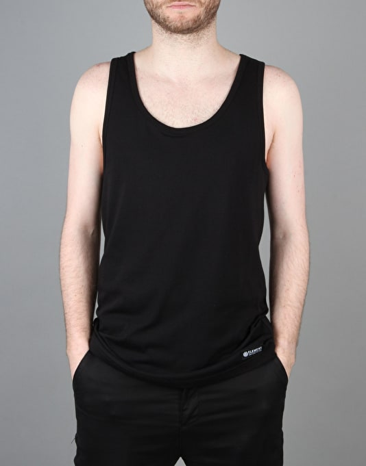 Element Basic Singlet Vest - Flint Black