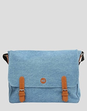 Mi-Pac Denim Messenger Bag - Stonewash