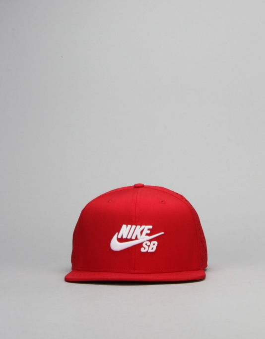 Nike SB Performance Trucker Cap - Gym Red/Gym Red/Black/White