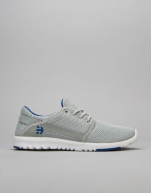 Etnies Scout Shoes - Grey/White/Royal