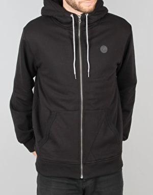 Volcom Single Stone Lined Zip Hoodie - Black