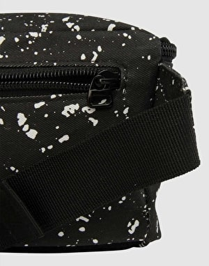 Mi-Pac Splattered Bum Bag - Black/White