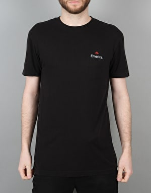 Emerica x Independent S/S T-Shirt - Black