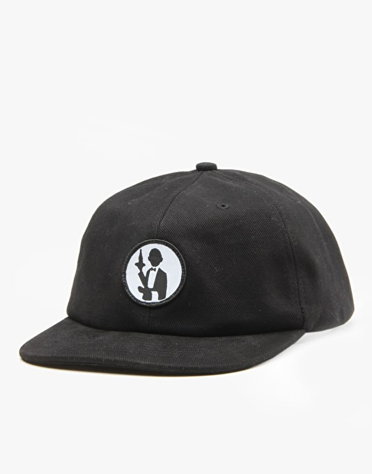 Pass Port No Service Cap - Black
