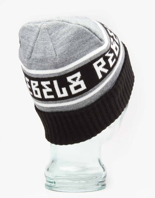 Rebel8 Alpine Beanie - Grey