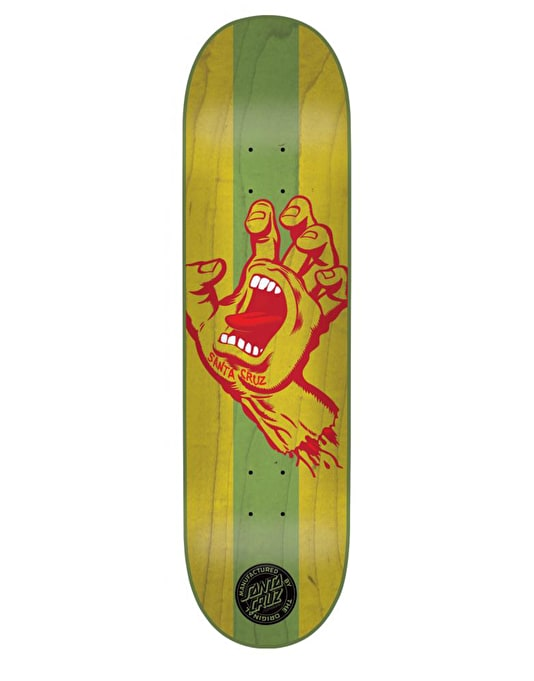 Santa Cruz Stained Hand Team Deck - 8.25""