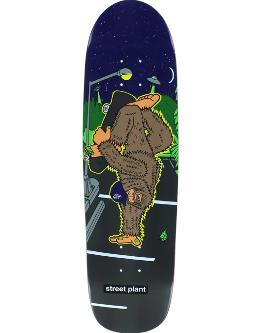 Street Plant Bigfoot Hand Team Deck - 8.5""