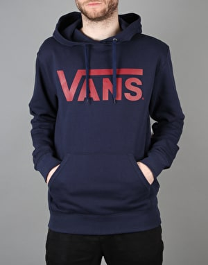 Vans Classic Pullover Hoodie - Dress Blues/Rhubarb