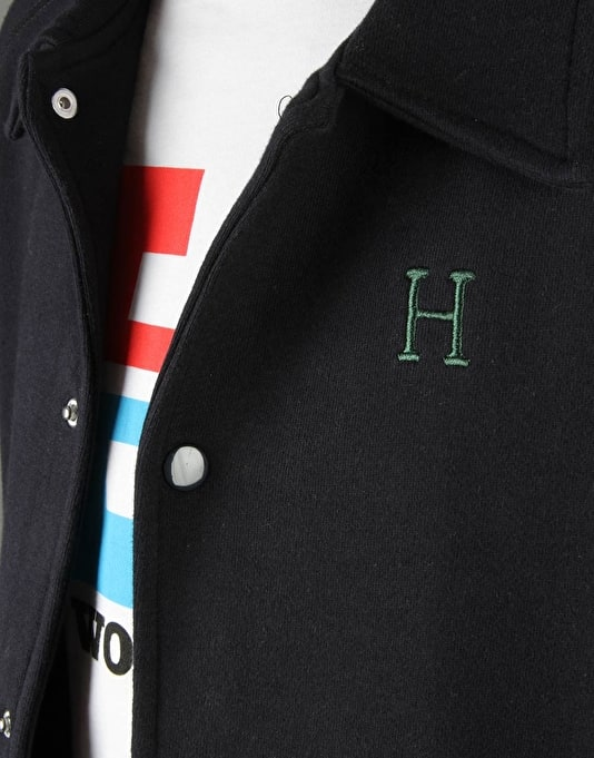 HUF Fleece Coach Jacket - Navy