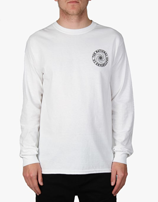 The National Skateboard Co. Universal L/S T-Shirt - White