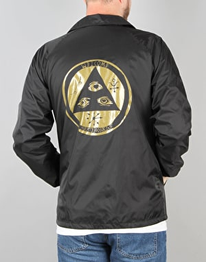 Welcome Talisman Coach Jacket - Black/Gold