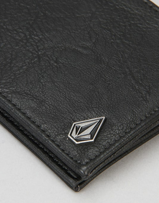 Volcom Slim Stone Wallet - Black