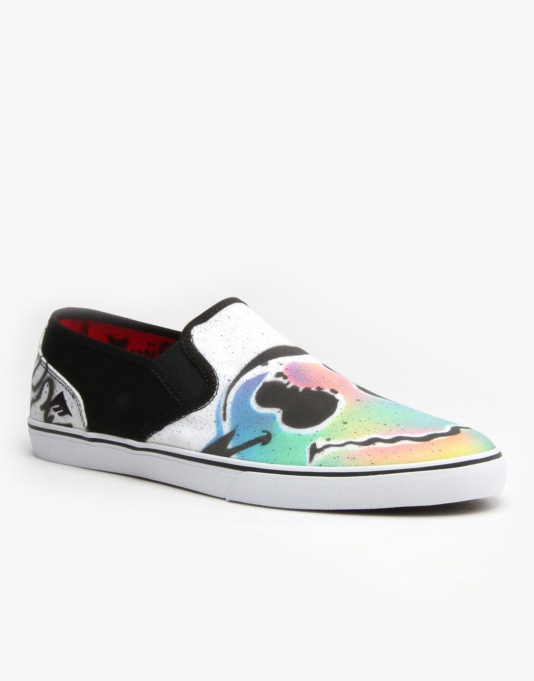Emerica x Mouse Provost Cruiser Slip UK Exclusive Skate Shoe -  Trippy