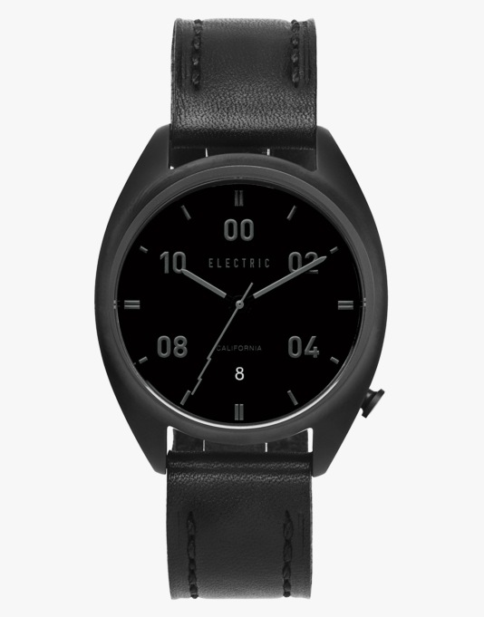 Electric OW01 - All Black Leather