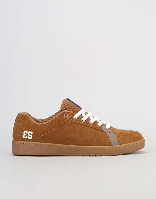 éS Sal Skate Shoe - Brown/Gum