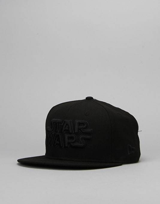 New Era x Star Wars Logo Snapback Cap - Black/Graphite