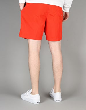Stüssy Stock Elastic Waist Shorts - Red