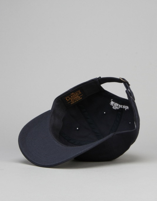 The Hundreds Old H Strapback Cap - Navy