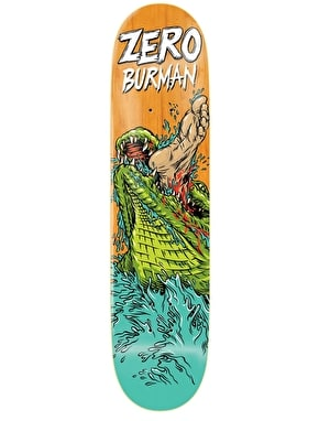 Zero Burman Animal Attack Impact Light Pro Deck - 8.375
