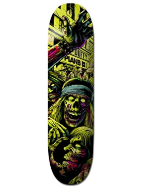 Plan B Duffy Ripping Shred BLK ICE Pro Deck - 8.375